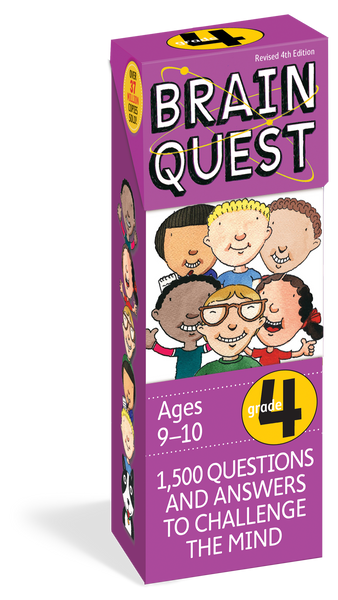 Brain Quest Grade 4 - 1,500 Questions and Answers to Challenge the Mind