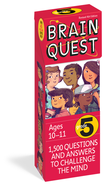 Brain Quest Grade 5 - 1,500 Questions and Answers to Challenge the Mind