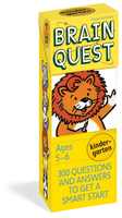 Brain Quest Kindergarten - 300 Questions and Answers to Get a Smart Start