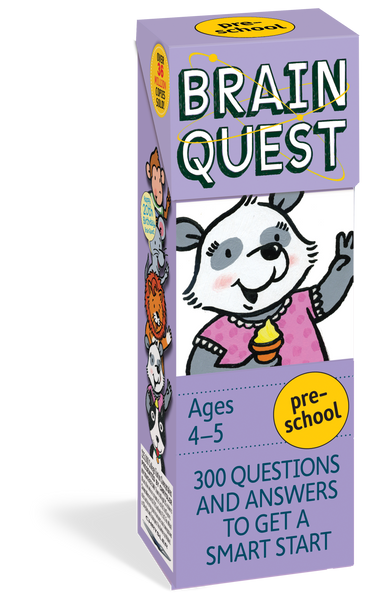 Brain Quest Preschool - 300 Questions and Answers to Get a Smart Start