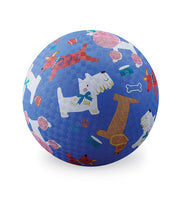 "7"" Playground Ball - Dogs Blue"