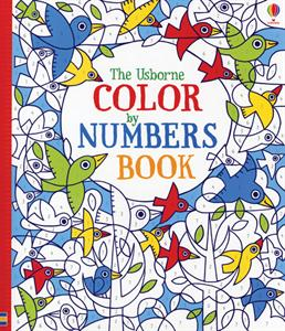 Color by Numbers Book - Activity Book by Usborne