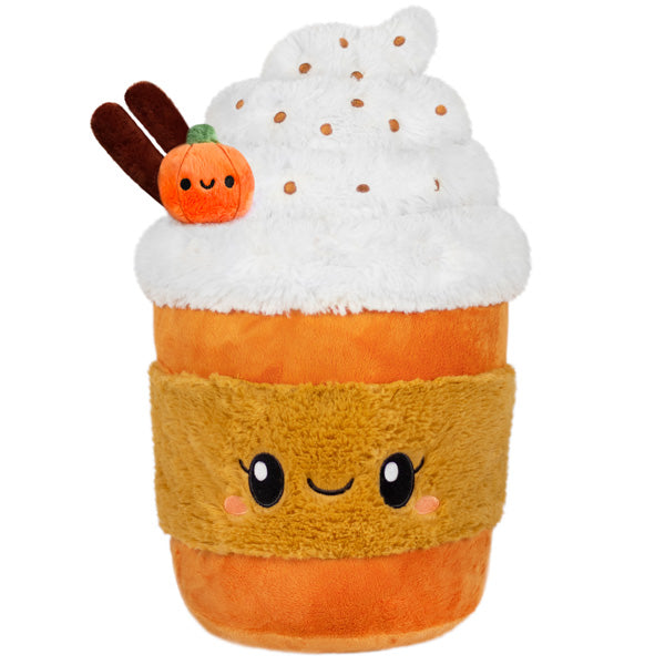 "Comfort Food Pumpkin Spice Latte 15"" SQUISHABLE Plush"