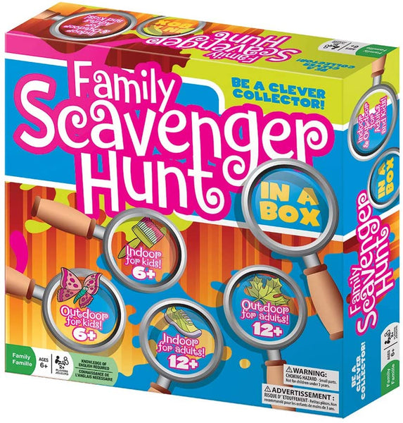 Family Scavenger Hunt Game by Outset Media