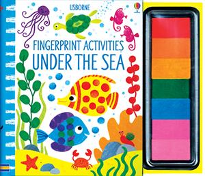 Fingerprint Activities Under the Sea - an Activity Book by Usborne