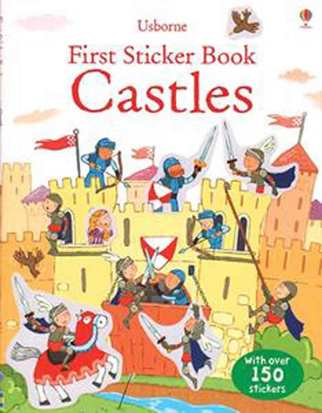 First Castles Sticker Book - an Activity Book by Usborne