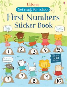 First Numbers Sticker Book - an Activity Book by Usborne
