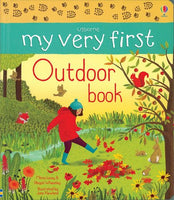 My Very First Outdoor Book - an Activity Book by Usborne
