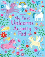 My First Unicorns Activity Pad - Activity Book by Usborne