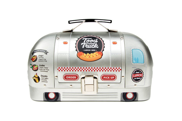 Food Truck Retro Tin Lunch Box