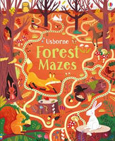 Forest Mazes - an Activity Book by Usborne