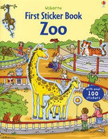 First Sticker Book Zoo - an Activity Book by Usborne