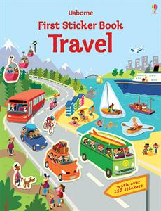 First Sticker Book Travel - an Activity Book by Usborne