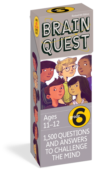Brain Quest Grade 6 Card Deck