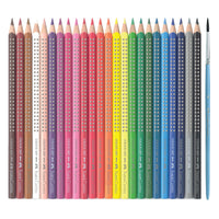 24 Grip Watercolor EcoPencils by Faber Castell