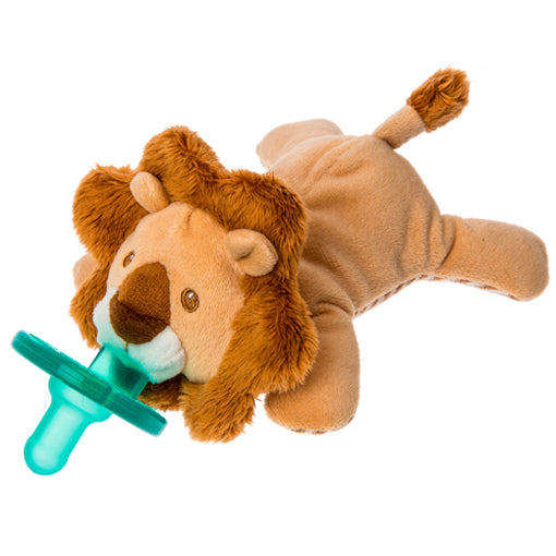 Afrique Lion WubbaNub Pacifier with attached Lovey