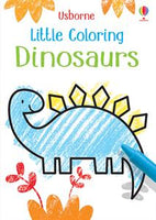 Little Coloring Dinosaurs - Activity Book by Usborne