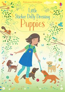 Little Sticker Dolly Dressing Puppies - an Activity Book by Usborne