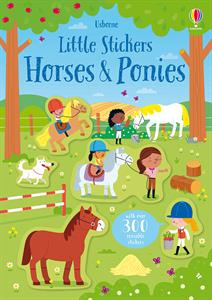 Little Stickers Horses & Ponies - an Activity Book by Usborne