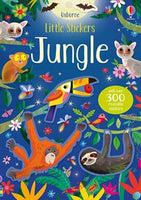 Little Stickers Jungle - an Activity Book by Usborne
