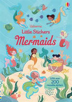 Little Stickers Mermaids - an Activity Book by Usborne