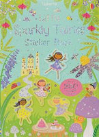 Little Sparkly Fairies Sticker Book - an Activity Book by Usborne