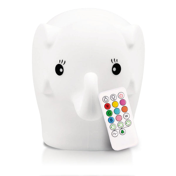 ELEPHANT LumiPets® Soothing Nightlight with Remote Control, Rechargeable
