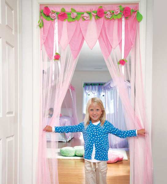 Secret Garden Make an Entrance (Doorway Decor) - Pink