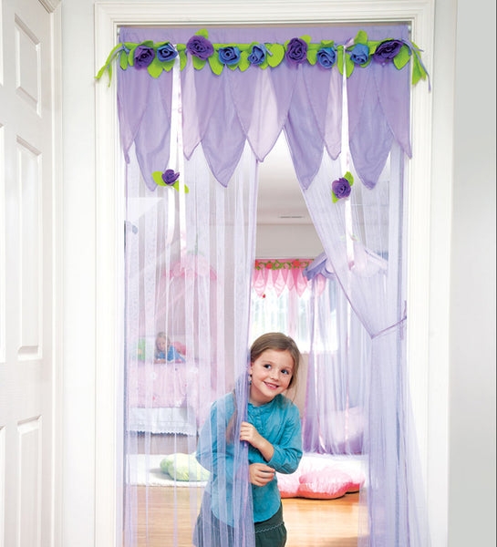 Secret Garden Make an Entrance (Doorway Decor) - Purple