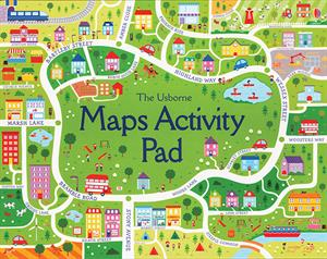 Maps Activity Pad- Activity Book by Usborne