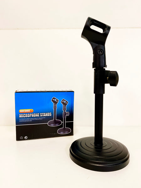 Tabletop Microphone Stand - Adjustable Mic Stand
