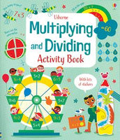 Multiplying and Dividing Activity Book by Usborne