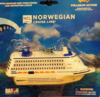 Norwegian Cruise Line Pullback Cruise Ship Toy