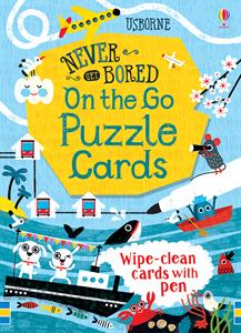 Never Get Bored: On the Go Puzzle Wipe-Clean Activity Cards
