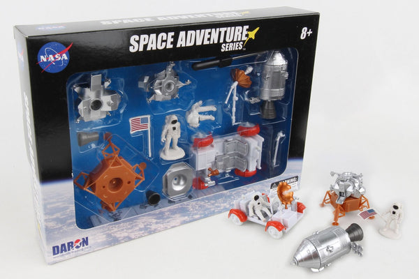 NASA Space Adventure - Lunar Rover Playset with Action Figure Astronaut