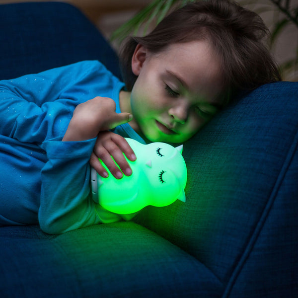 OWL LumiPets® Bluetooth Soothing Nightlight with Remote Control, Rechargeable