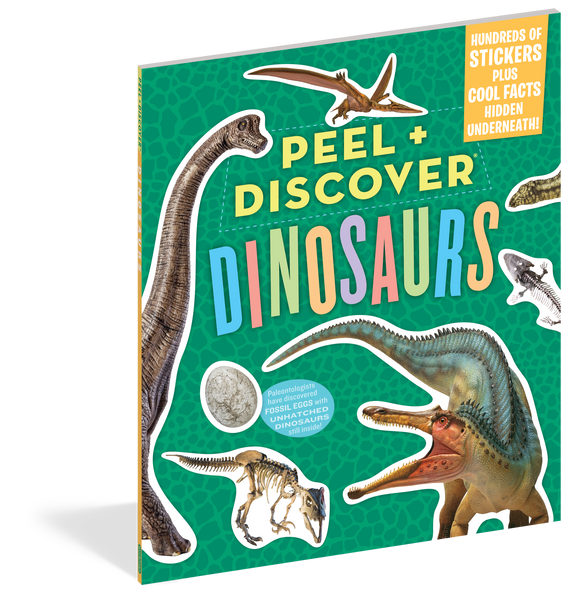 Peel + Discover: Dinosaurs Sticker Activity Book