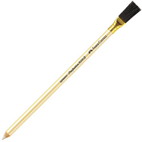 Eraser Stick With Brush (PERFECTION BRUSH) by Faber-Castell