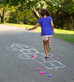 Playground Classic Games Set-Kickball, Hopscotch, and 4-Square