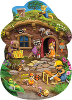 Rabbit's House Floor Puzzle by Cobble Hill