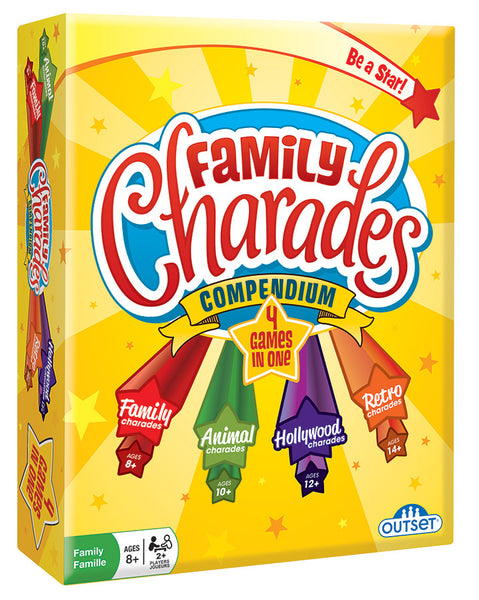Family Charades Compendium - Includes 4 different charades games