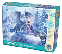 Ice Dragon, 350pc Puzzle by Cobble Hill