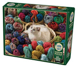 Fur Ball, 1000pc CAT Puzzle by Cobble Hill