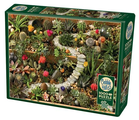 Succulent Garden, 1000pc Puzzle by Cobble Hill