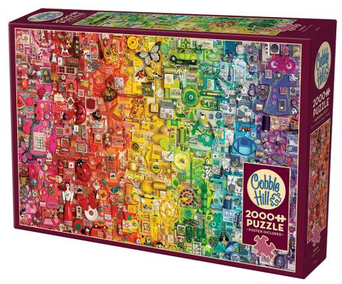 Rainbow 2000pc Puzzle by Cobble Hill