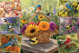 Rosemary's Birds 2000pc Puzzle by Cobble Hill