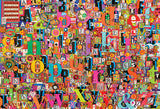 Shelley's ABC 2000pc - Mega 3D Collage Puzzle by Cobble Hill