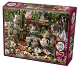 Mad Hatter's Tea Party  2000pc Puzzle by Cobble Hill