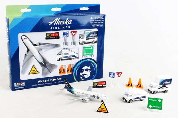 Alaska Airles Airport Play Set