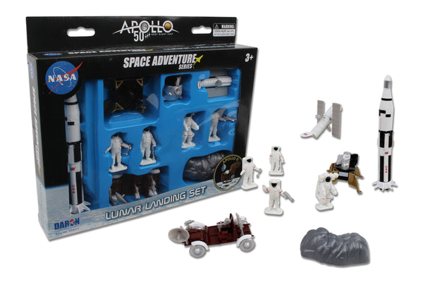 NASA Moon Landing 9pc Playset - 50th Anniversary Edition